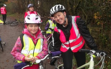 Sustrans treat day for years 3, 5 and 6!